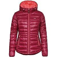Li-Ning Mujer Chaqueta Lauren, otoño/Invierno, Mujer, Color Rojo, tamaño XL