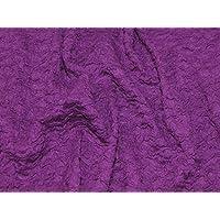 Minerva Crafts Crinkle Strukturierte Jersey Knit Kleid Stoff lila –  Meterware e068d64832