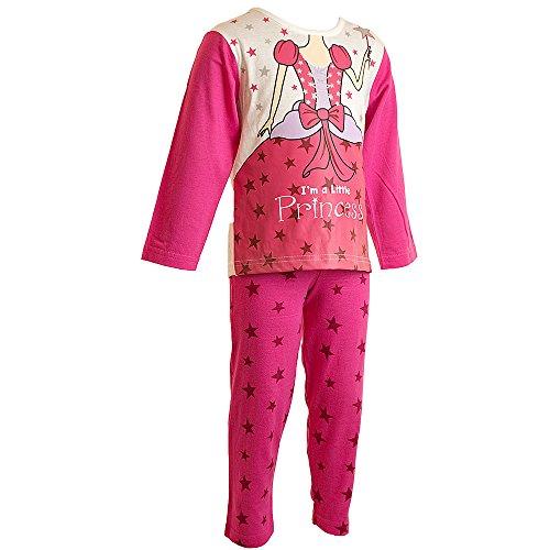 Dress Up Pyjamas Mädchen Kleid rosa rose Gr. 5-6 Jahre, rose