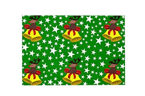Wdskbg Bell Large Area Rugs,Dirty Children's Carpets for Living Roooms,Bedrooms,Children's Doormats 152x99cm/5'x3'