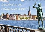 Kreuzfahrt zu den Metropolen der Ostsee - Conrad Stein Verlag (Wandkalender 2019 DIN A4 quer): Der Kalender folgt den Routen der ... (Monatskalender, 14 Seiten ) (CALVENDO Orte)