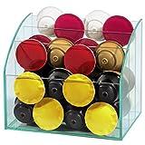 Xavax Glas-Organizer zum Aufbewahren von Kaffeekapseln und Zubehör