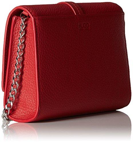 Hugo Nidia-r 10195833 01, Pochette da Giorno Donna, Taglia Unica Rosso (Bright Red)