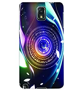 ColourCraft Lens Back Case Cover for SAMSUNG GALAXY NOTE 3
