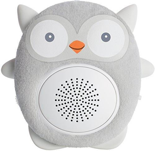 Einschlafhilfe Baby Und Kleinkind - White Noise Bluetooth Lautsprecher Als Schlafhilfe - Tragbarer Lautsprecher, Wiederaufladbar, Optimal Für Zuhause Und Unterwegs | WavHello SoundBub - Ollie die Eule
