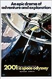 Poster 100 x 150 cm: 2001: Odyssee im Weltraum von Everett Collection - Hochwertiger Kunstdruck, Neues Kunstposter