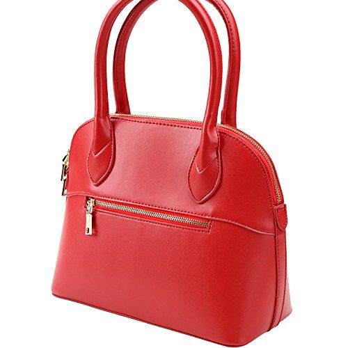 Jago Borsa Da Donna In 4 Colori Realizzata In Resistente Pelle Sintetica Moderna Ed Elegante Con Molto Spazio Rosso