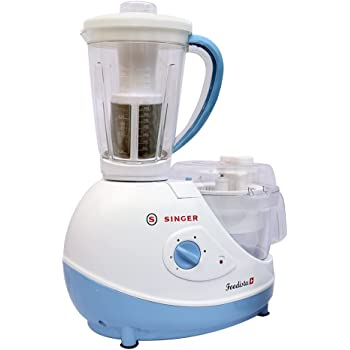 Singer Foodista Plus 600 Watts Food Processor with 14 Attachements