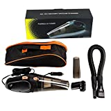 51pd5bctowL. SL160  - BEST BUY #1 Car Vacuum Cleaner,Uvistar 106W 12V Portable Hand Held Wet and Dry Vacuum cleaner ,Extra Length Cable 4.5 Meter Cleaner with Storage Pocket Reviews uk