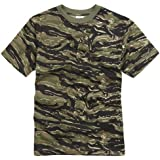RTC US Military Style T-Shirt- Tiger Stripe Camouflage
