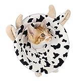 ZuckerTi - Collerette de protection confortable pour animal domestique - Minerve pour la cicatrisation des plaies - Cône de protection, collier cervical - Collerette de sécurité intelligente pour chien, chaton, chat, lapin, animal domestique