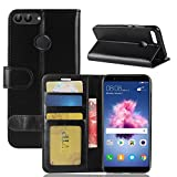 Cover Huawei Honor 9 Lite, moda Custodia portafoglio,GOGME[serie portafogli] Bella cover in ecopelle...