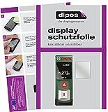Bosch PLR 15 Schutzfolie - 3x dipos Displayschutzfolie Folie klar