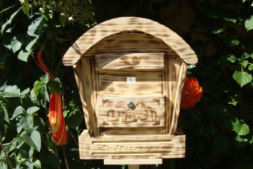 Briefkasten aus Holz