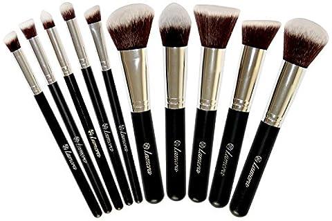 Set Pinceaux de Maquillage – Kit Kabuki Fond de teint,