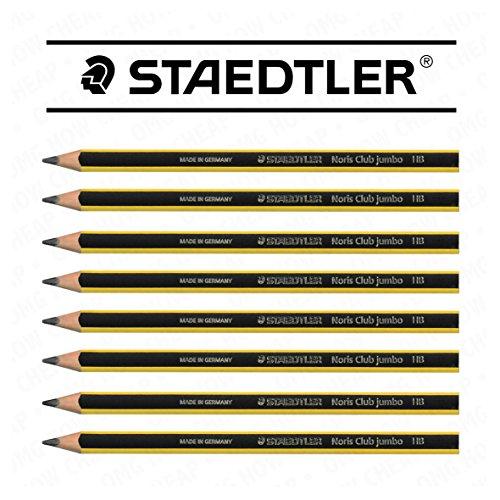Staedtler Noris 119 Triplus Jumbo Triangular Learners Pencil - HB - Pack of 8