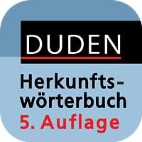 Duden - Das Herkunftswörterbuch, 5. Auflage