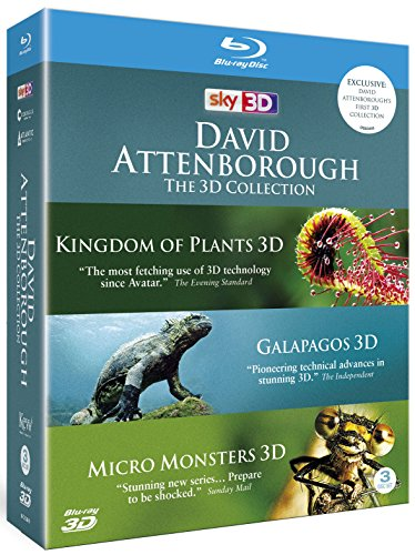 David Attenborough: The 3D Collection (Blu-ray 3D) [UK Import]