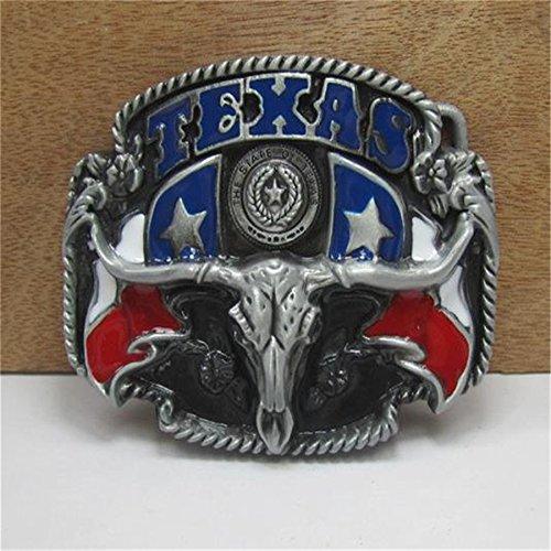 Generic Mens Luxury Brand Designer Metal Belt Buckles Gifts DIY Texas Bull