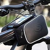 """Bolsa Bicicleta Cuadro - ieGeek Roswheel Soporte Movil Bicicleta - Impermeable Bolsa Bici Manillar de Teléfono Celular con Pantalla Táctil Alforjas para Bicicleta Montaña o Carretera, 5"""", 2.4L"""