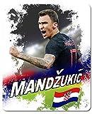 Calcio - Mario Mandzukic Croazia Tappetino per Mouse (23 x 19cm)