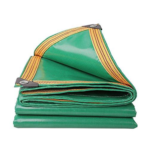 Preisvergleich Produktbild QIANGDA Planen GewebePlane Abdeckplane Polyvinylchlorid Verstärkte Kante Überdachung Markise Wasserdicht -350 G/M², Dicke 0,32 Mm, Grün, 8 Größen Optional, Größe Angepasst (größe : 2 x 3m)