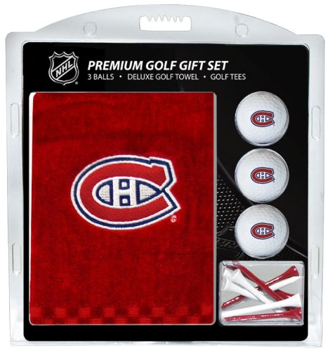 Team Golf NHL Montreal Canadiens Besticktes Handtuch Geschenk-Set