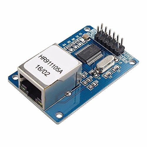 LIUXINDA-MK Sehr praktische ENC28J60 Ethernet LAN Netzwerk Modul für Arduino SPI AVR PIC LPC-STM 32