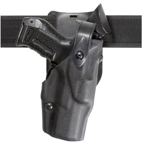 Safariland 6365Level 3Retention als-Pflicht Holster, low-ride, schwarz, STX, Glock 17mit M3