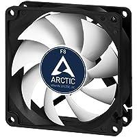 ARCTIC F8-80 mm Standard Gehäuselüfter| Extrem leiser Lüfter | Case Fan mit Standardgehäuse | Push- oder Pull Konfiguration möglich