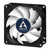 ARCTIC F8 - ventilador caja estándar de 80 mm, extremadamente silencioso, carcasa estándar, posibilidad de instalar en dos direcciones