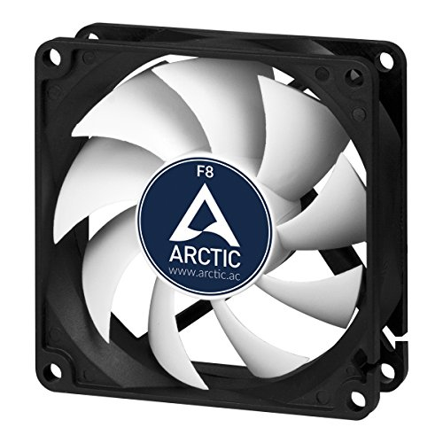 ARCTIC F8 - 80 mm standard box fan, extremely quiet, standard housing, possibility to install in two directions