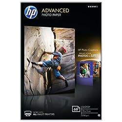 HP Advanced Photo Paper glace Papier jet d'encre Photo 250g