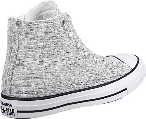 1U452 Converse CT HI gris sweat-shirt gris argent blanc