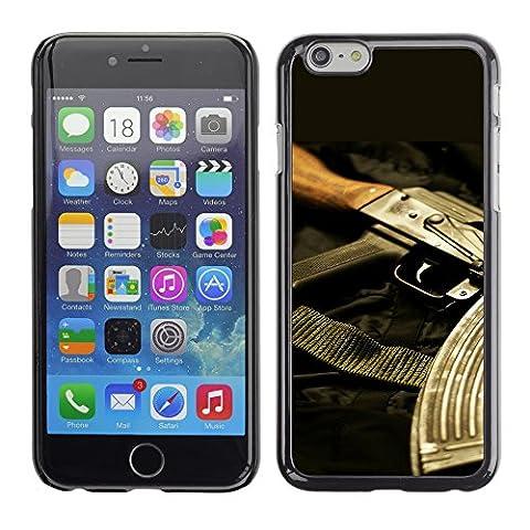 Graphic4You AK47 AK-47 Maschinengewehr Sturmgewehr Design Harte Hülle Case Tasche Schutzhülle für Apple iPhone 6 / 6S