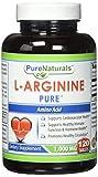 Pure Naturals L-Arginine - 1000 mg, 120 Tablets from Pure Naturals