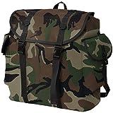 Festnight 40 L Armeerucksack Freizeitrucksack Backsack Rucksack aus Polyester...