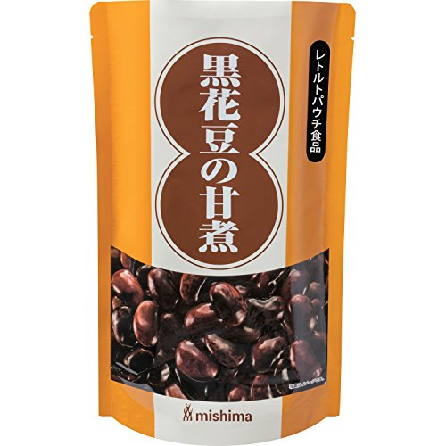 三島食品 黒花豆の甘煮 1000g