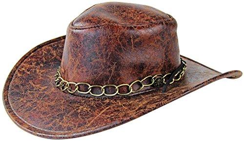 Seiler24 Cowboy Hut für Erwachsene Karneval