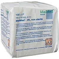 Maimed - unsterile Vlieskompressen - weiß -10x10cm - 20x100 Stück= 2000 Stk preisvergleich bei billige-tabletten.eu
