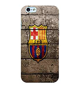 For Apple iPhone 6S Football, Black, Game Pattern, Printed Designer Back Case Cover By CHAPLOOS