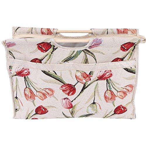 1 bolsa tejer exquisita práctica bolsa almacenamiento