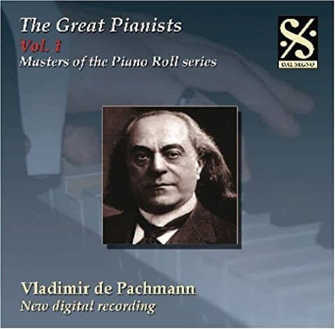 Masters of Piano Roll Series: The Great Pianists 1 by Masters of Piano Rool Series-Vol. 1