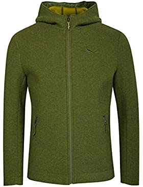 Salewa Sarner Funktionsstrickjacke Tilo in Grün