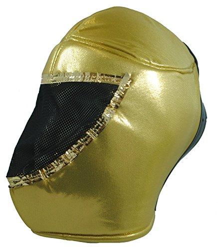 Terrapin Trading Fair Trade echte mexikanische Wrestling-Maske Nacho Libre! Wählen Sie aus 5 Designs (Gold)