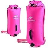 LeKing Zyronguk 15L Outdoor Swim Boa, nuoto attrezzature multifunzionale borse PVC materiale nuoto galleggiante di traino Plus, sacca per Open Water nuotatori e triatleti