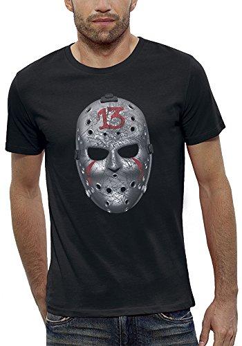 nimierte T-Shirt Freitag 13 in Augmented Reality Herren - Größe XL - Schwarz (Virtuelle Halloween)