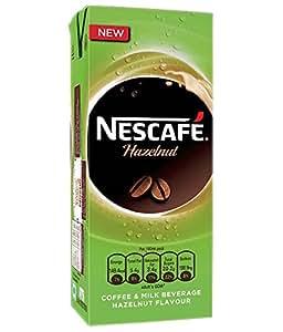 NESCAFE Ready To Drink - Hazelnut, 180ml each (Pack of 6)