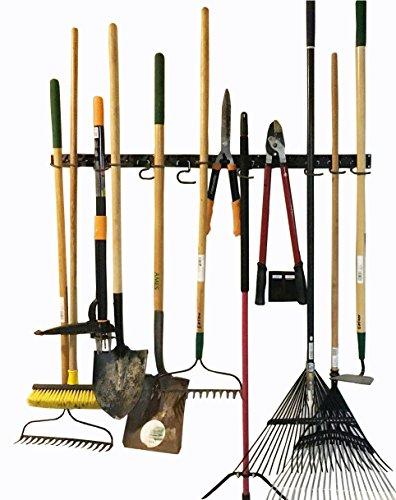 verstellbar Storage System 121,9cm, Wandhaltern für Werkzeug, Wandhalterung Werkzeug Veranstalter, Garage Organizer, Garden Tool Organizer, Garage Aufbewahrung (Wand-storage-einheiten)