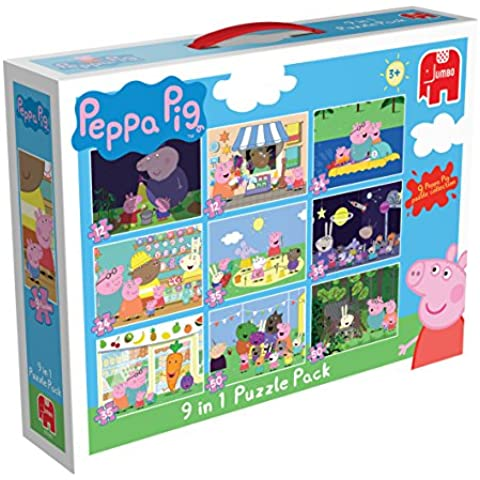 Peppa Pig 9 in 1 Jigsaw